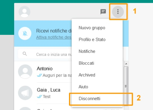 disconnetti-di-whatsapp