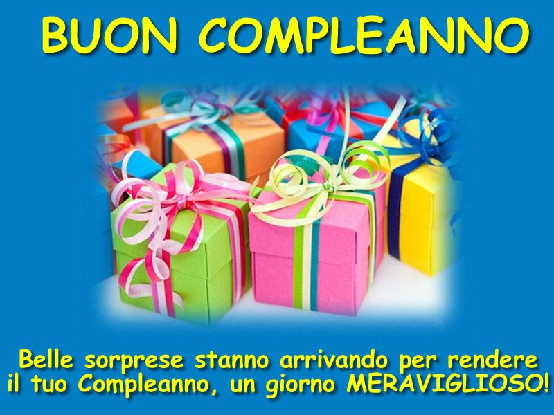 Preferenza Immagini di Buon Compleanno, Tanti auguri e Stati con belle frasi  FW82