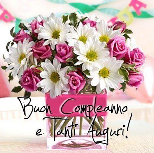 Preferenza Immagini di Buon Compleanno, Tanti auguri e Stati con belle frasi  ON83