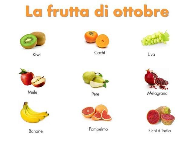 Benvenuto ottobre stati gratis e immagini di buon mese di - Immagine di frutta e verdura ...