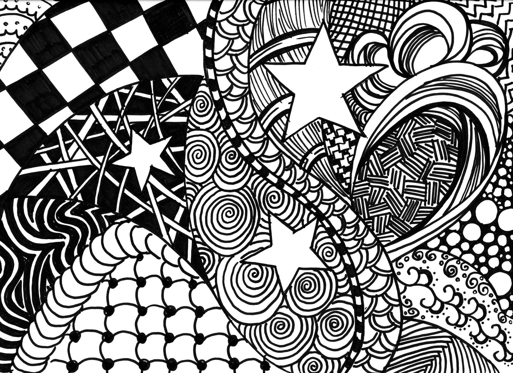 Cosa Sono I Zentangle Immagini Da Scaricare Gratis