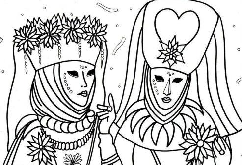 Maschere Di Carnevale Le Maschere Italiane