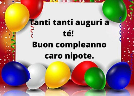 Buon Compleanno Nipote Auguri Frasi E Immagini Piu Belle