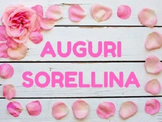 Famoso Buon Compleanno Sorella: Auguri, Frasi e Immagini Più Belle AW38